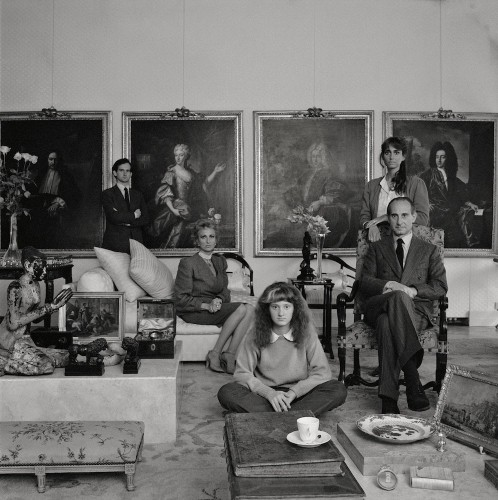 Patrick Faigenbaum, Famille Frescobaldi, Florence, 1984—2010 silver chlorobromide print