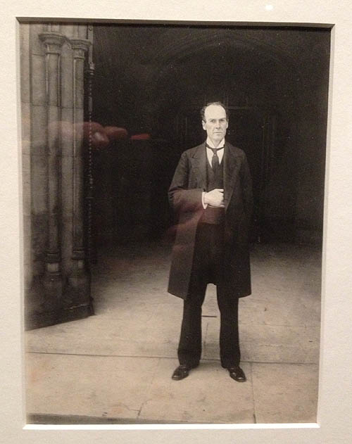 "John Benjamin Stone's ""Man at the Entrance to Houses of Parliament."""