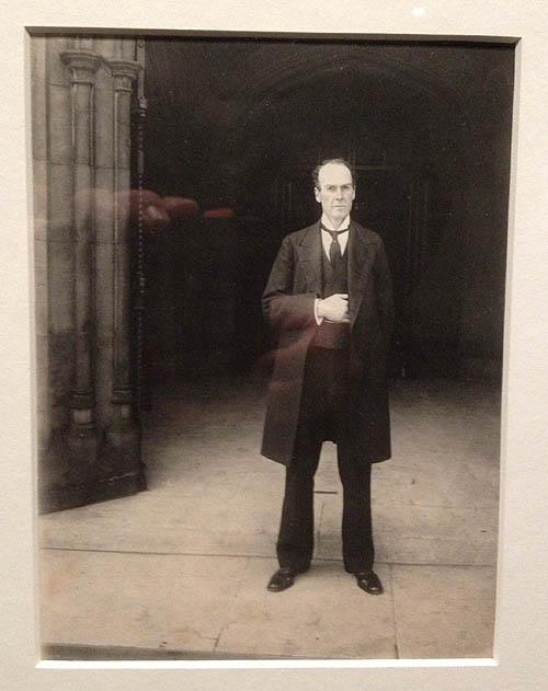 "John Benjamin Stone's ""Man at the Entrance to Houses of Parliament."""