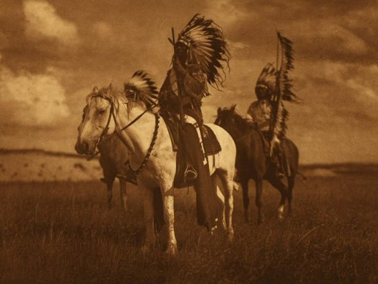 Edward Curtis - Sioux Chiefs