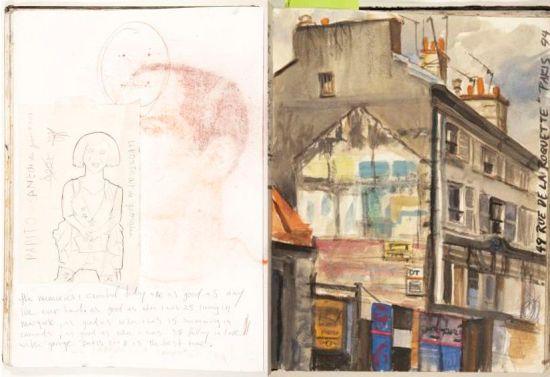 Sketchbook by H Craig Hanna