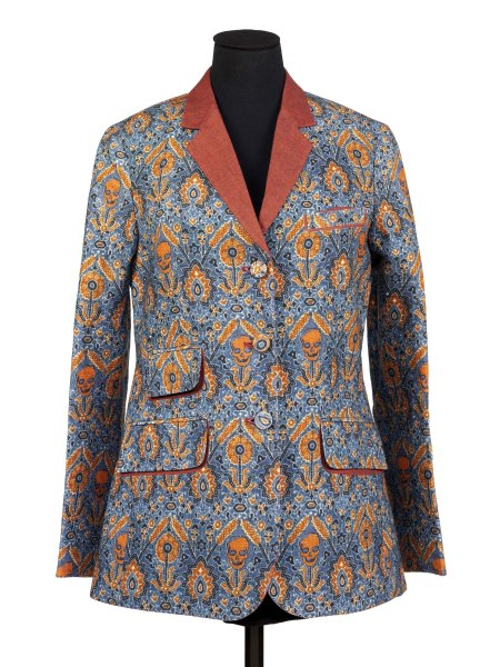 Women's 'Ajrak' Jacket, digitally printed linen, designed by Rajesh Pratap Singh, Delhi, 2010. Victoria and Albert Museum, London